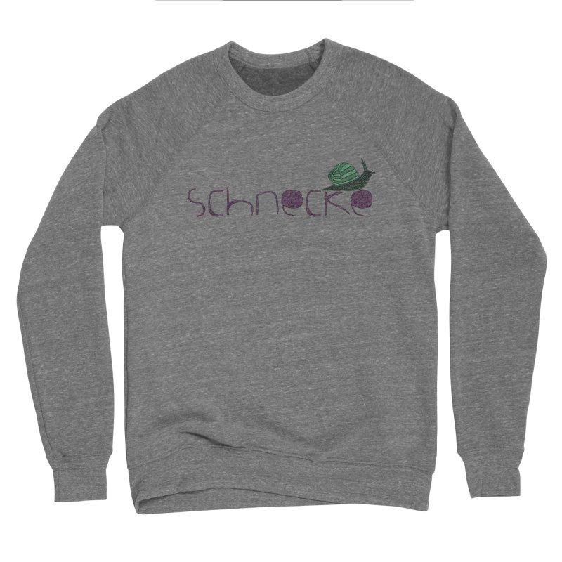 Kulti - Schnecke Design 2 Women's Sponge Fleece Sweatshirt by M A R I A N A    Z A P A T A