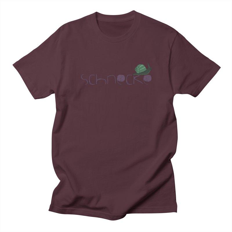 Kulti - Schnecke Design 2 Men's T-Shirt by M A R I A N A    Z A P A T A