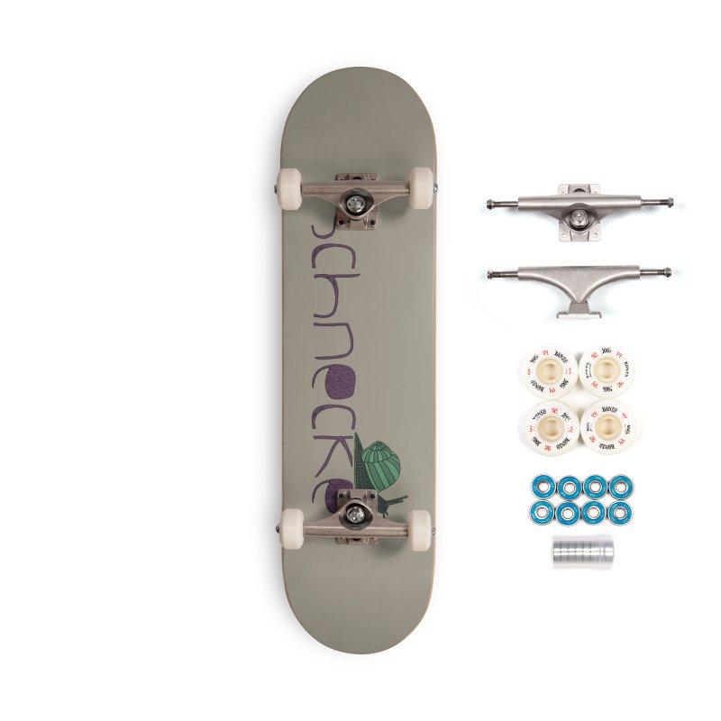 Kulti - Schnecke Design 2 Accessories Complete - Premium Skateboard by M A R I A N A    Z A P A T A