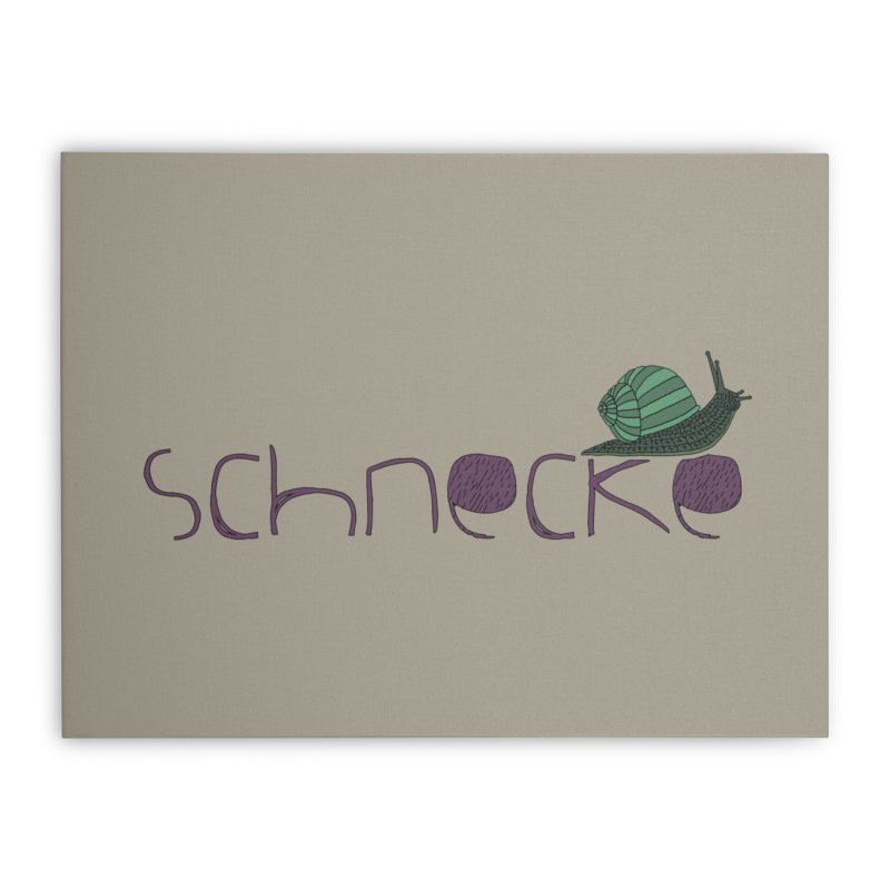 Kulti - Schnecke Design 2 Home Stretched Canvas by M A R I A N A    Z A P A T A