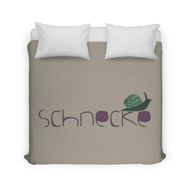 Kulti - Schnecke Design 2 Home Duvet by M A R I A N A    Z A P A T A