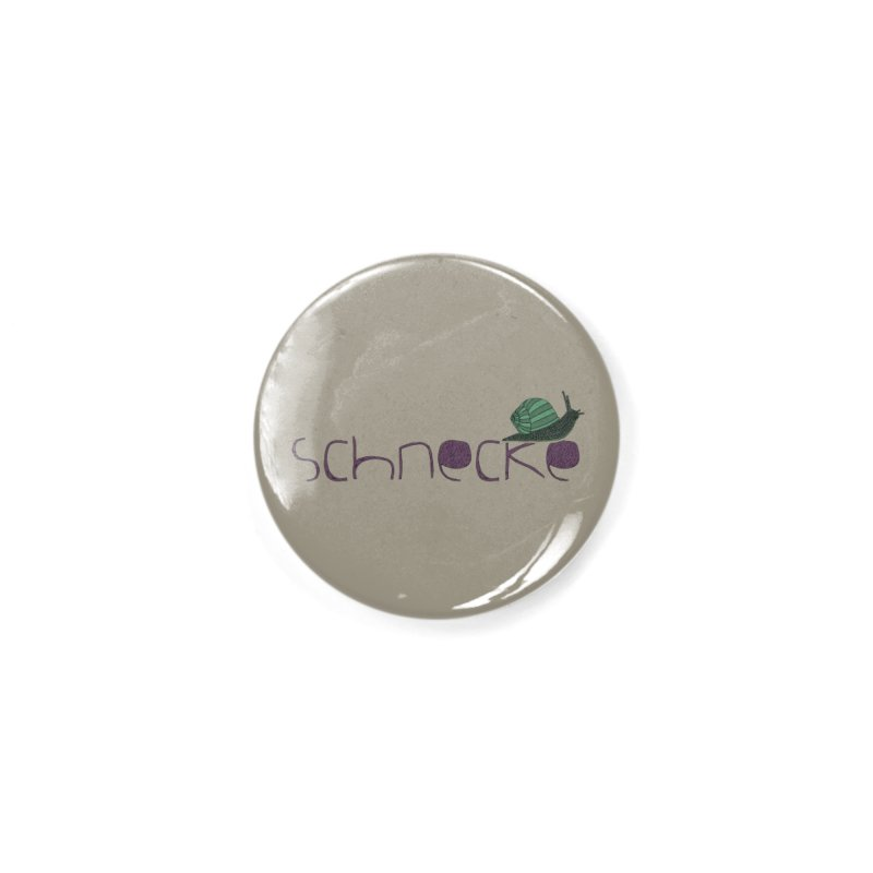 Kulti - Schnecke Design 2 Accessories Button by M A R I A N A    Z A P A T A