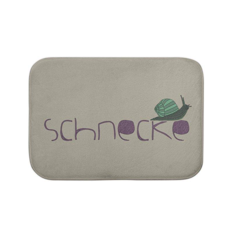 Kulti - Schnecke Design 2 Home Bath Mat by M A R I A N A    Z A P A T A