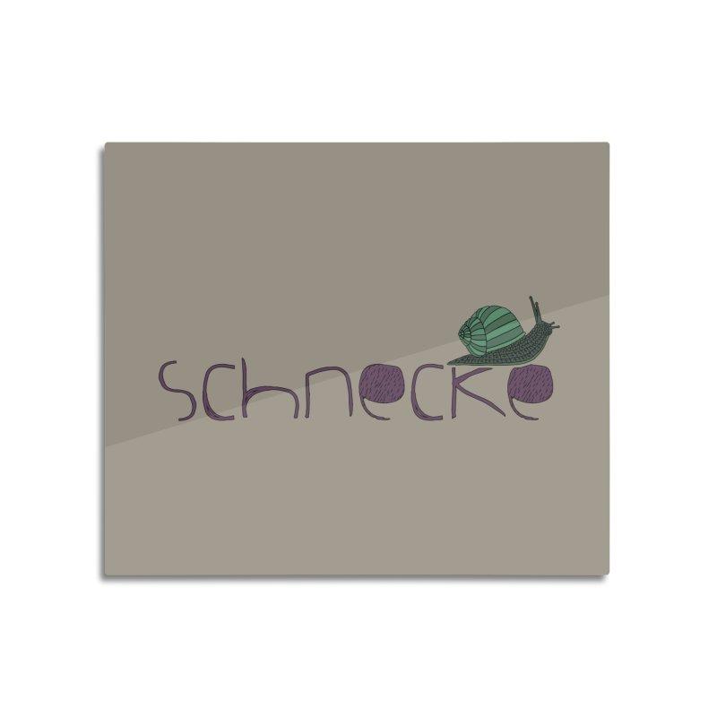 Kulti - Schnecke Design 2 Home Mounted Acrylic Print by M A R I A N A    Z A P A T A