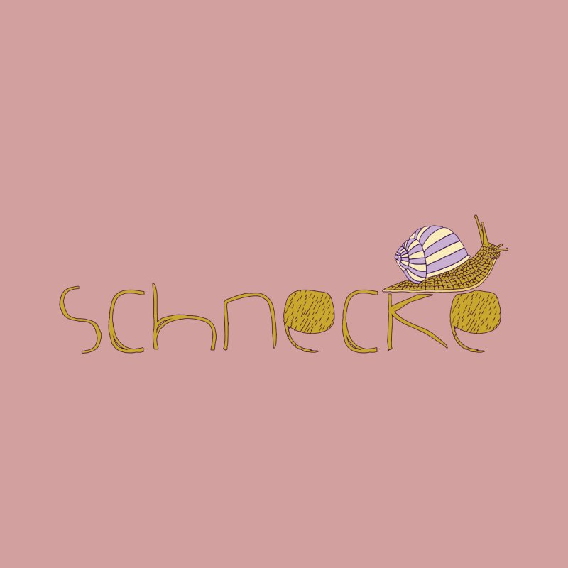 Kulti - Schnecke Design 3 Accessories Mug by M A R I A N A    Z A P A T A
