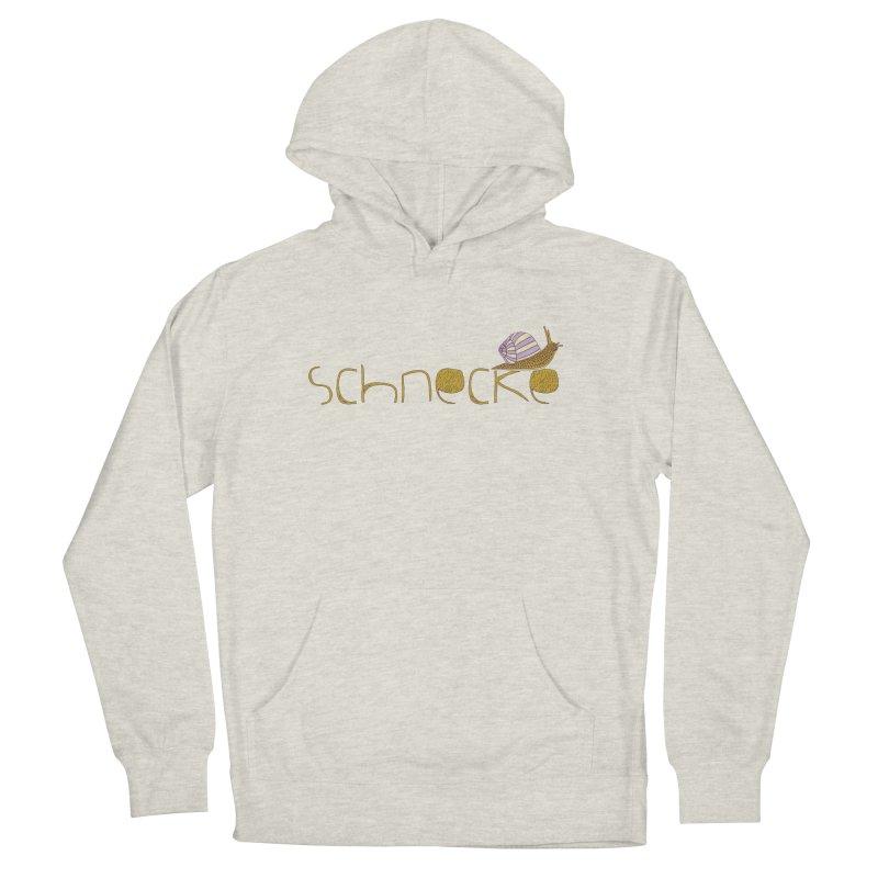 Kulti - Schnecke Design 3 Women's French Terry Pullover Hoody by M A R I A N A    Z A P A T A