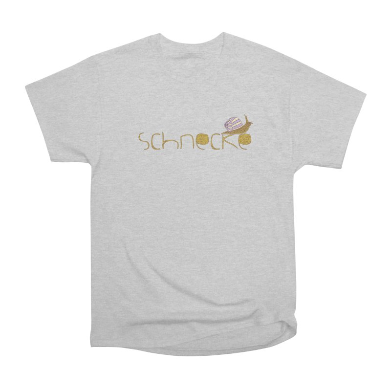 Kulti - Schnecke Design 3 Women's Heavyweight Unisex T-Shirt by M A R I A N A    Z A P A T A