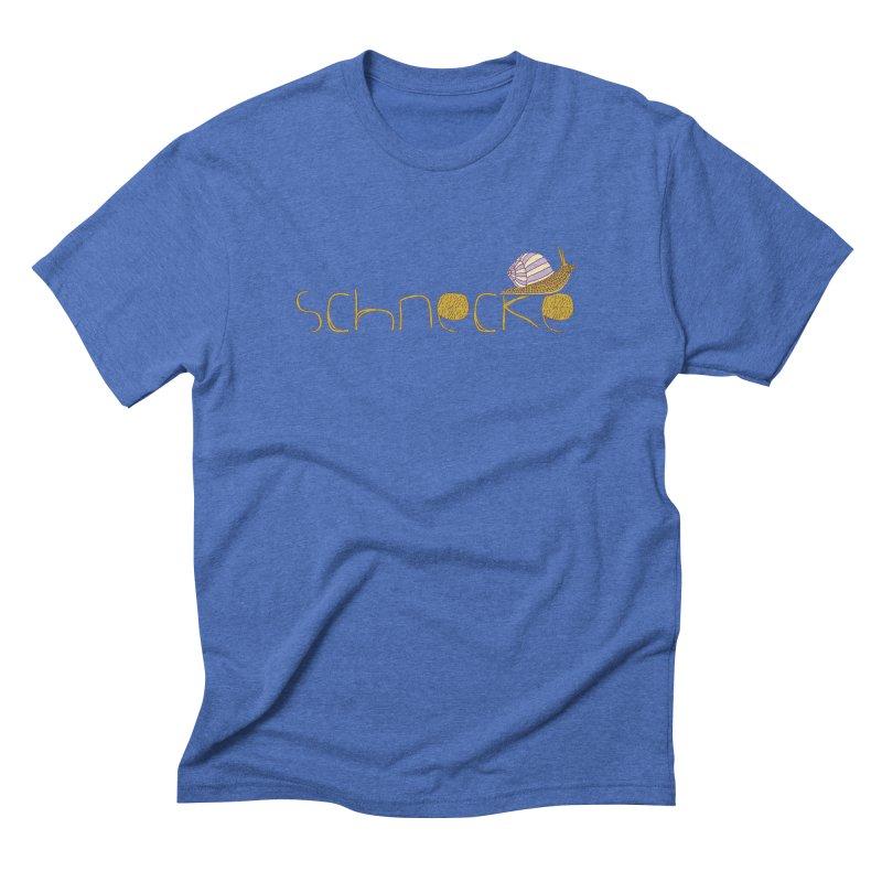 Kulti - Schnecke Design 3 Men's T-Shirt by M A R I A N A    Z A P A T A