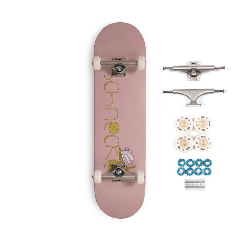 Kulti - Schnecke Design 3 Accessories Complete - Premium Skateboard by M A R I A N A    Z A P A T A