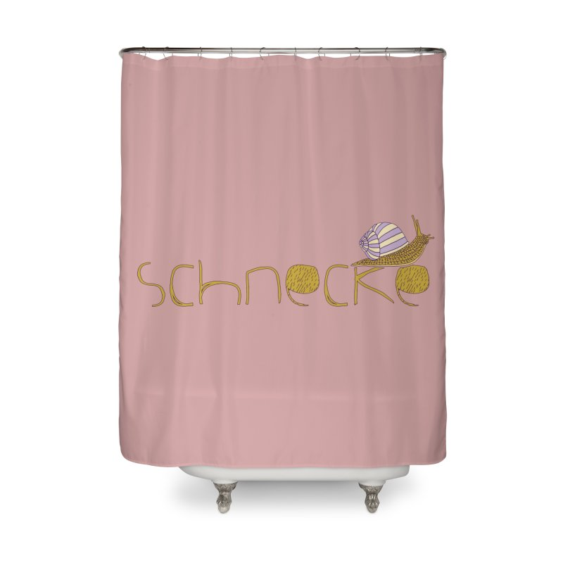 Kulti - Schnecke Design 3 Home Shower Curtain by M A R I A N A    Z A P A T A
