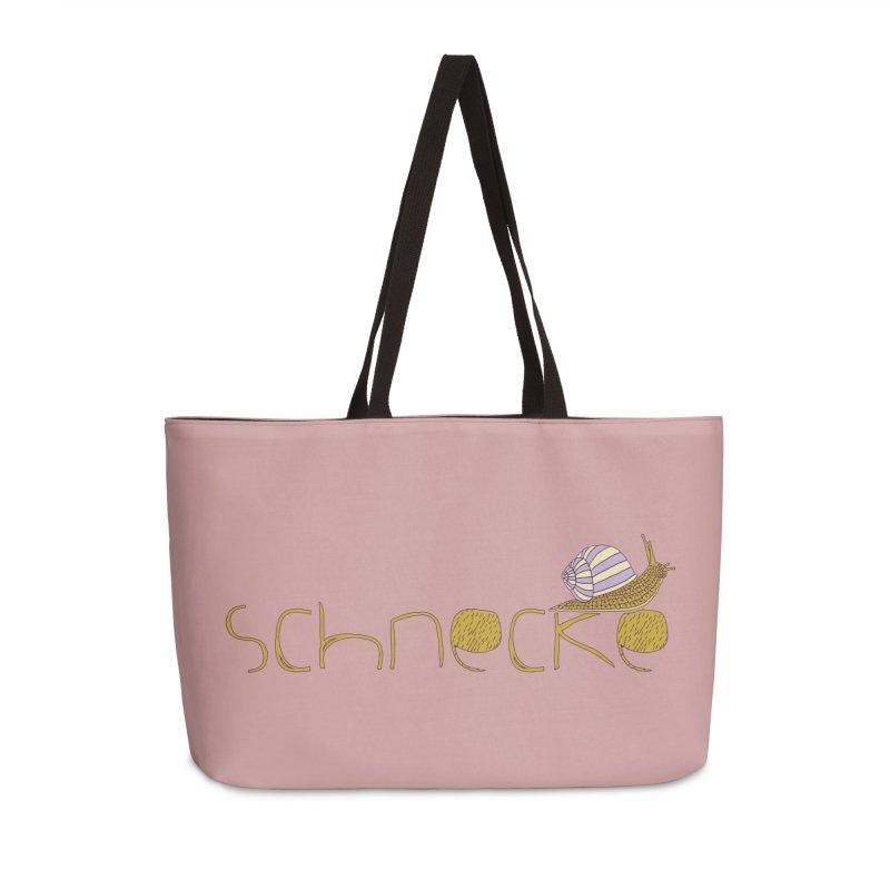 Kulti - Schnecke Design 3 Accessories Weekender Bag Bag by M A R I A N A    Z A P A T A