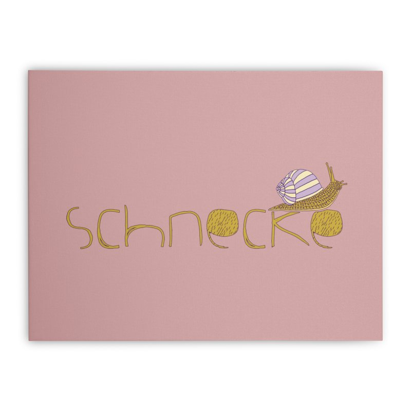 Kulti - Schnecke Design 3 Home Stretched Canvas by M A R I A N A    Z A P A T A