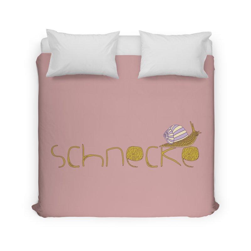 Kulti - Schnecke Design 3 Home Duvet by M A R I A N A    Z A P A T A