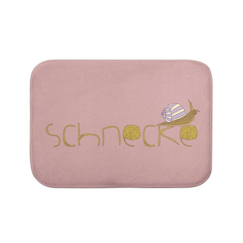 Kulti - Schnecke Design 3 Home Bath Mat by M A R I A N A    Z A P A T A