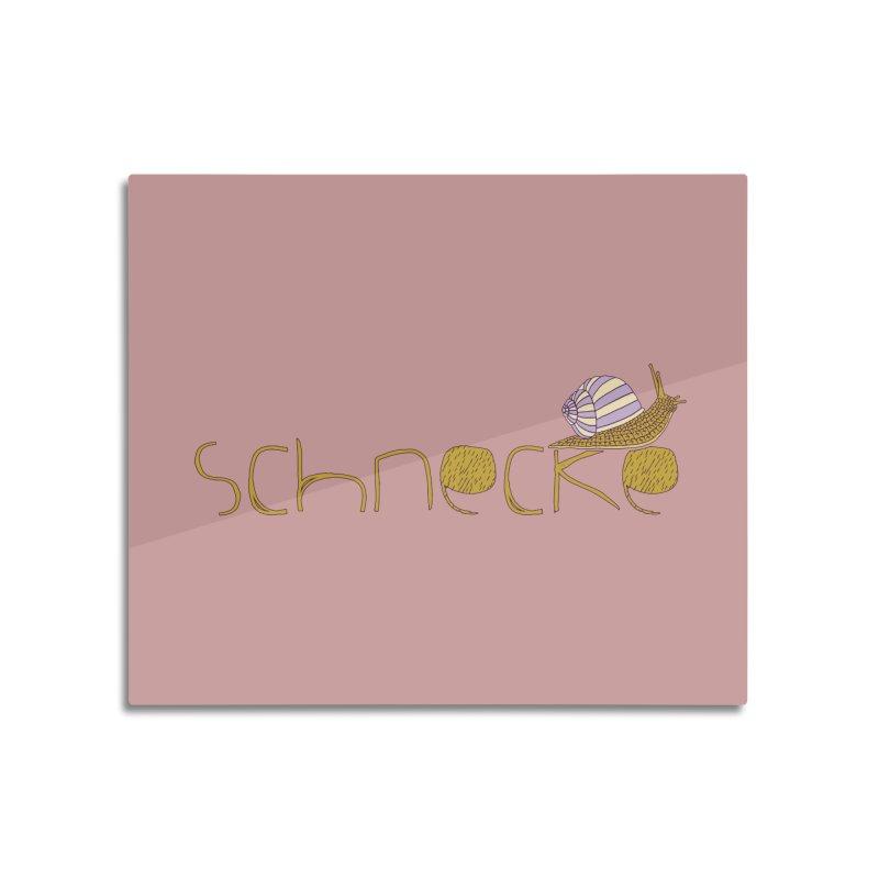 Kulti - Schnecke Design 3 Home Mounted Acrylic Print by M A R I A N A    Z A P A T A