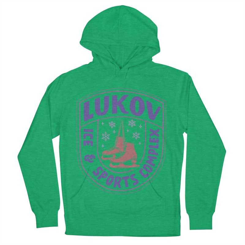 Lukov - Design 1 Women's French Terry Pullover Hoody by M A R I A N A    Z A P A T A