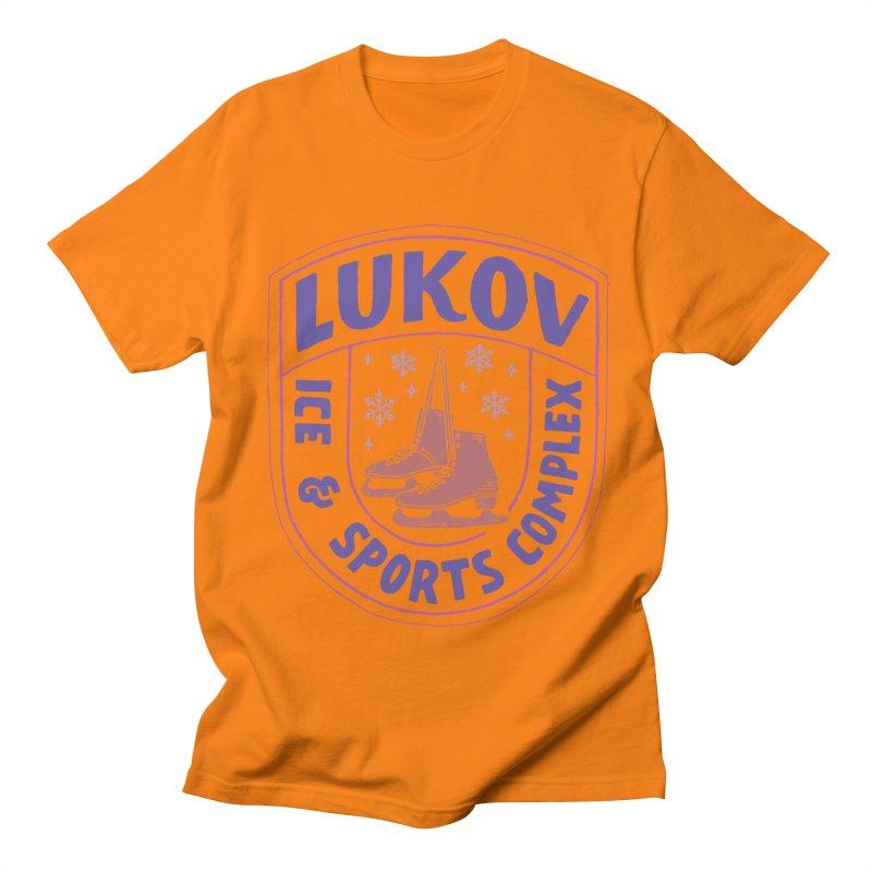 Lukov - Design 1 Men's Regular T-Shirt by M A R I A N A    Z A P A T A