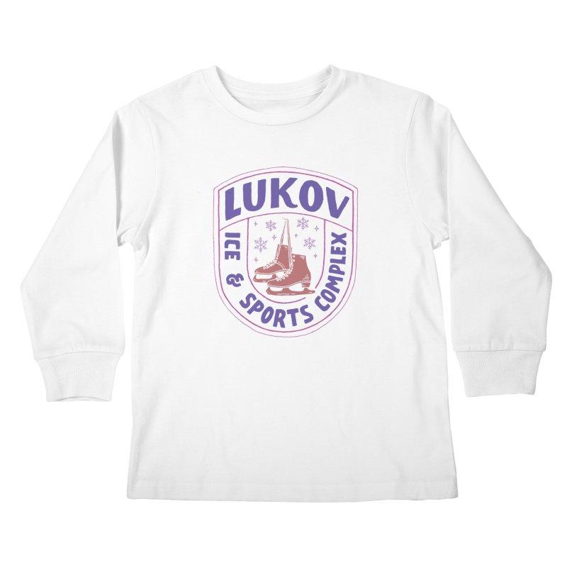 Lukov - Design 1 Kids Longsleeve T-Shirt by M A R I A N A    Z A P A T A