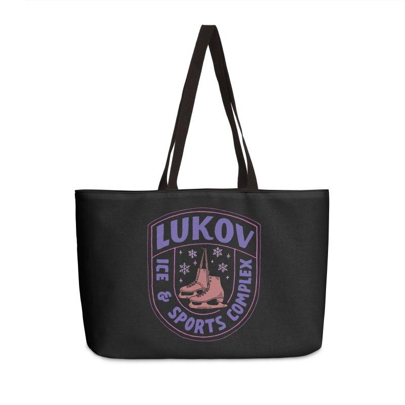 Lukov - Design 1 Accessories Weekender Bag Bag by M A R I A N A    Z A P A T A