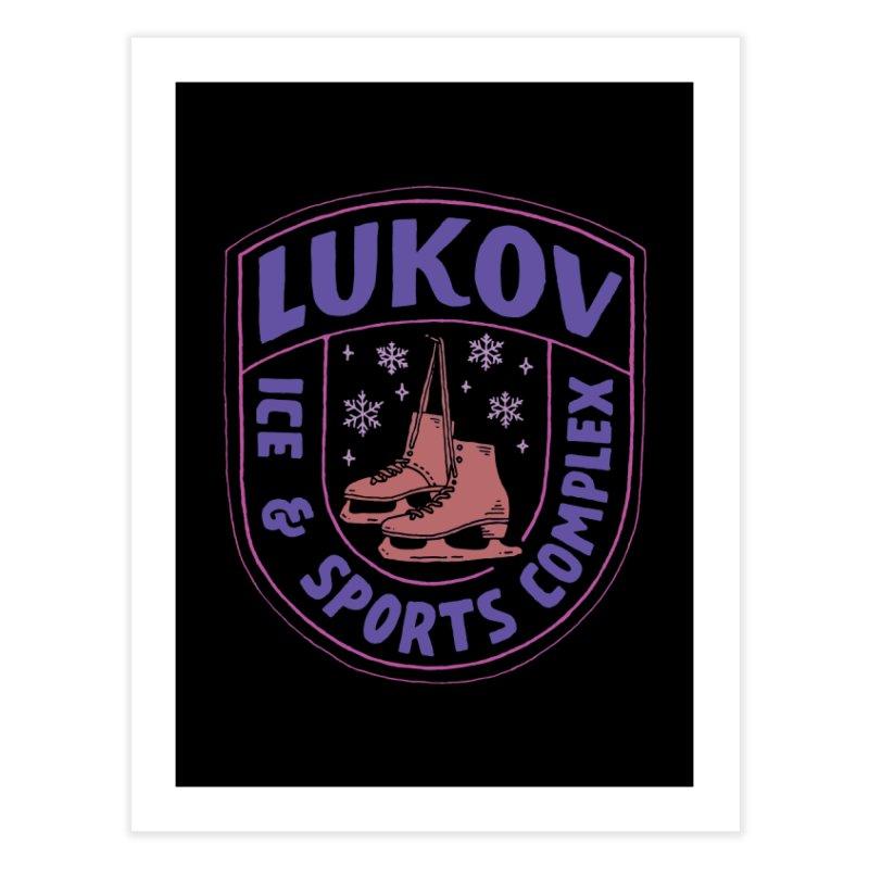Lukov - Design 1 Home Fine Art Print by M A R I A N A    Z A P A T A