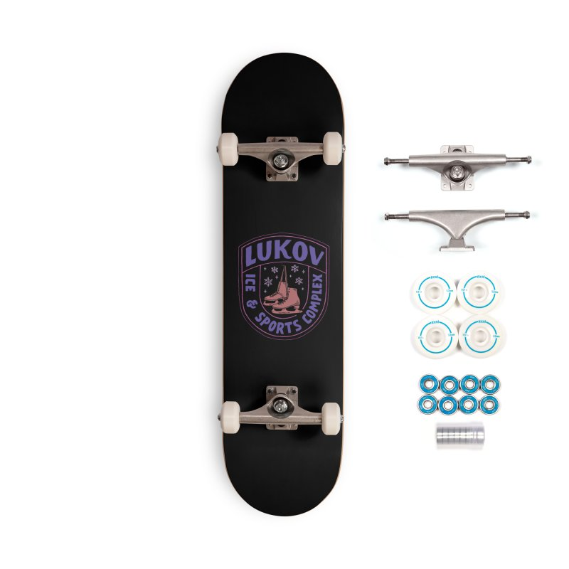 Lukov - Design 1 Accessories Complete - Basic Skateboard by M A R I A N A    Z A P A T A