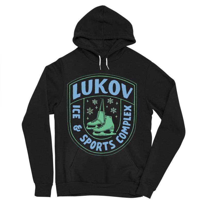 Lukov - Design 2 Women's Sponge Fleece Pullover Hoody by M A R I A N A    Z A P A T A