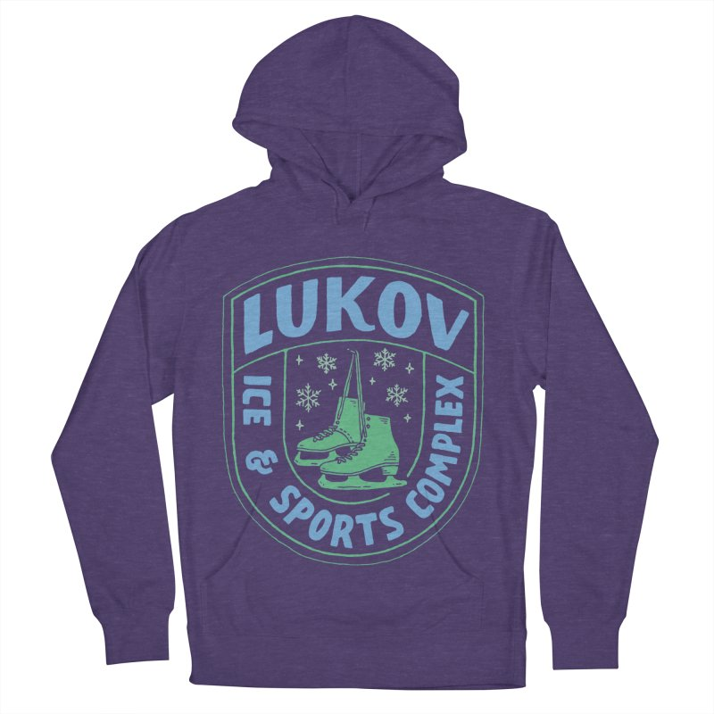 Lukov - Design 2 Men's French Terry Pullover Hoody by M A R I A N A    Z A P A T A