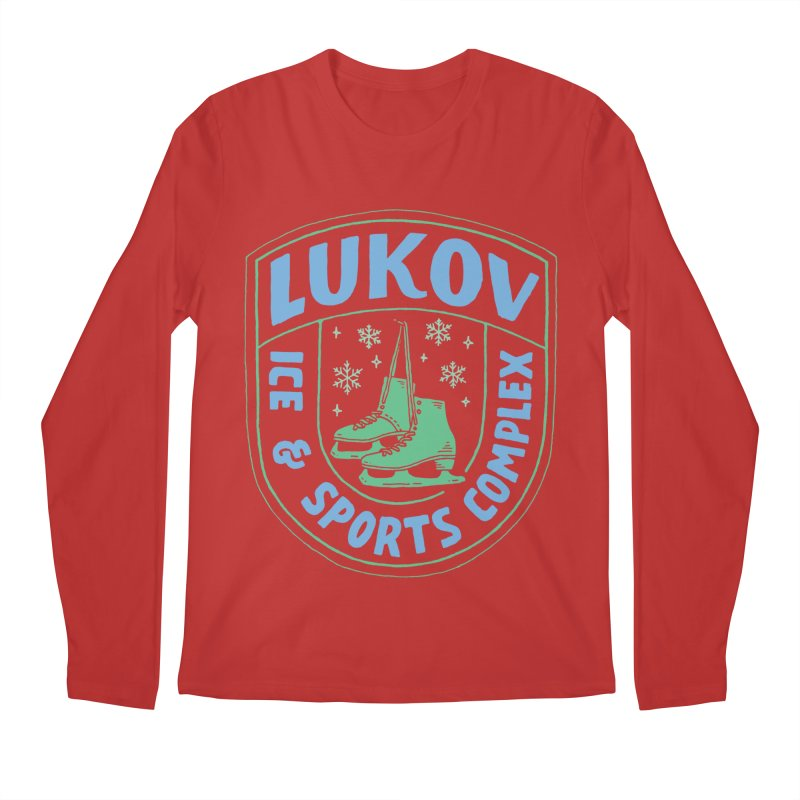 Lukov - Design 2 Men's Regular Longsleeve T-Shirt by M A R I A N A    Z A P A T A