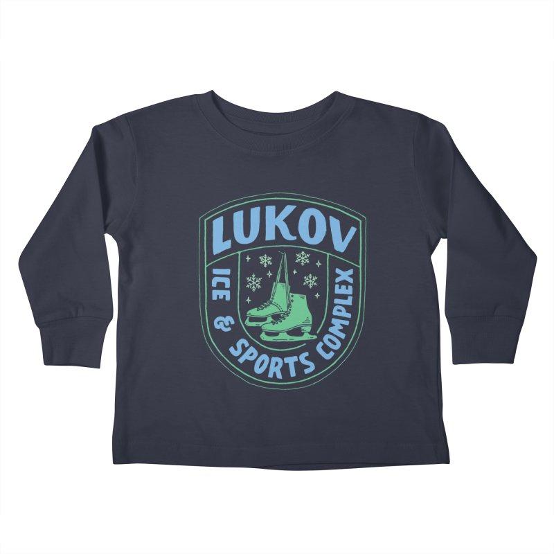 Lukov - Design 2 Kids Toddler Longsleeve T-Shirt by M A R I A N A    Z A P A T A