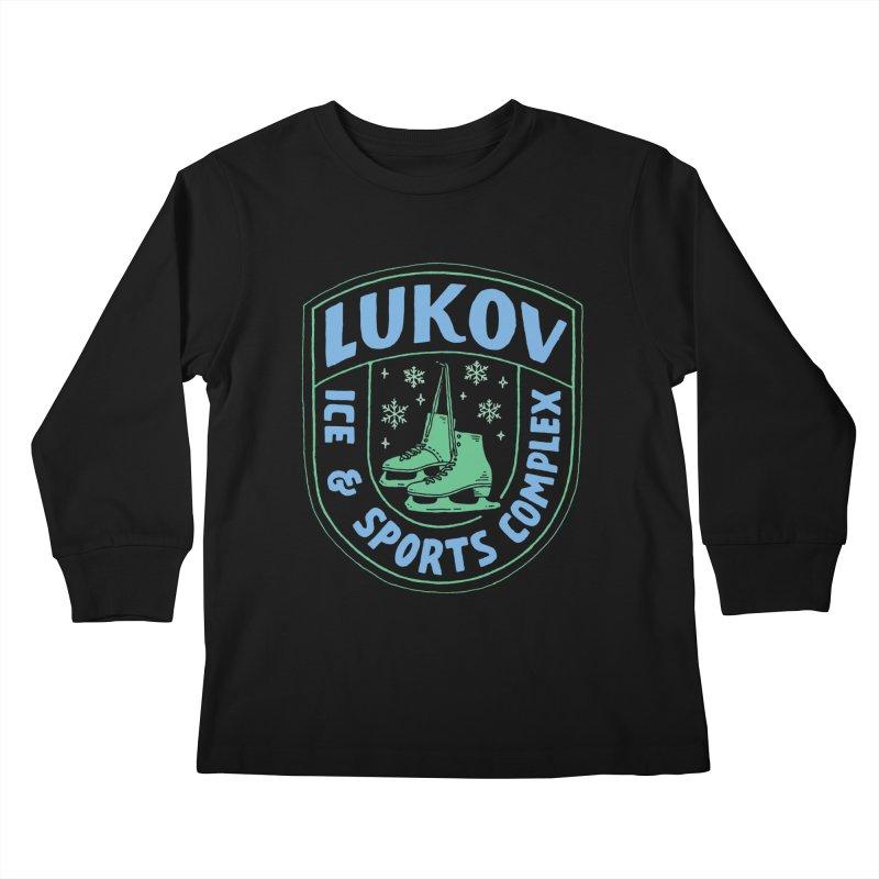 Lukov - Design 2 Kids Longsleeve T-Shirt by M A R I A N A    Z A P A T A