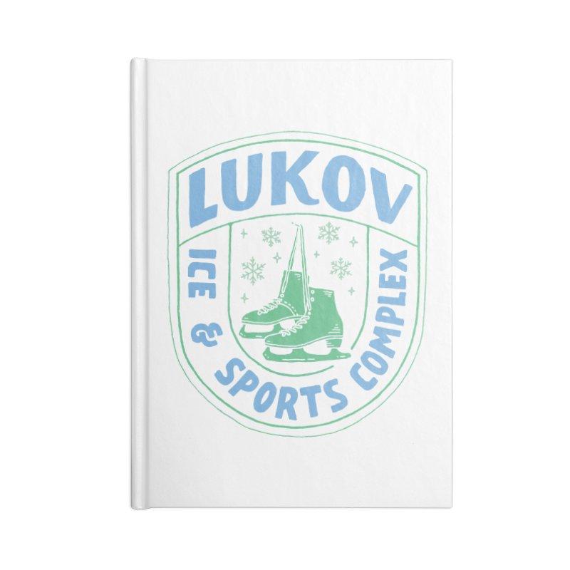 Lukov - Design 2 Accessories Lined Journal Notebook by M A R I A N A    Z A P A T A
