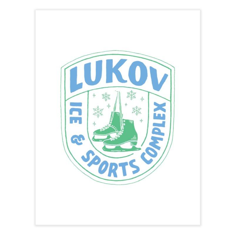 Lukov - Design 2 Home Fine Art Print by M A R I A N A    Z A P A T A