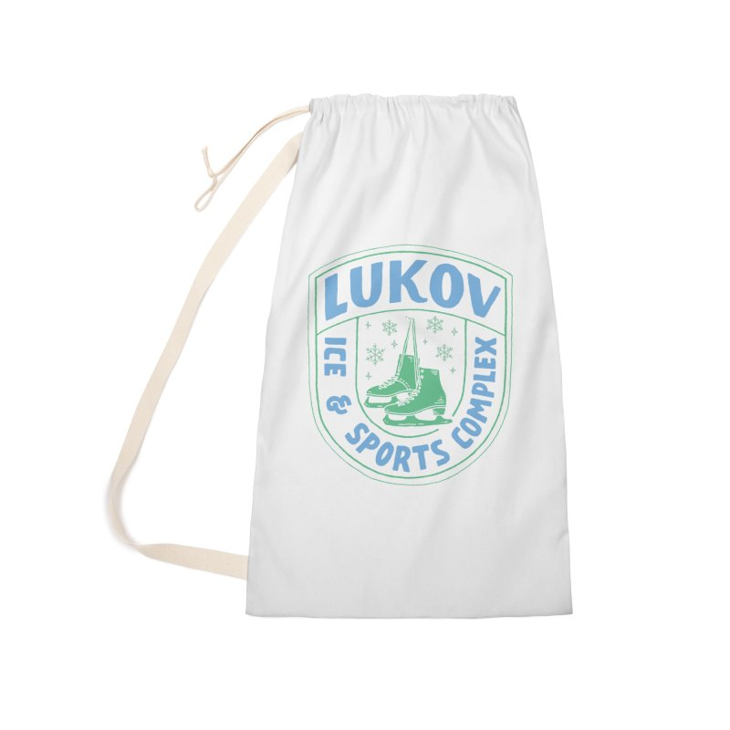 Lukov - Design 2 Accessories Laundry Bag Bag by M A R I A N A    Z A P A T A