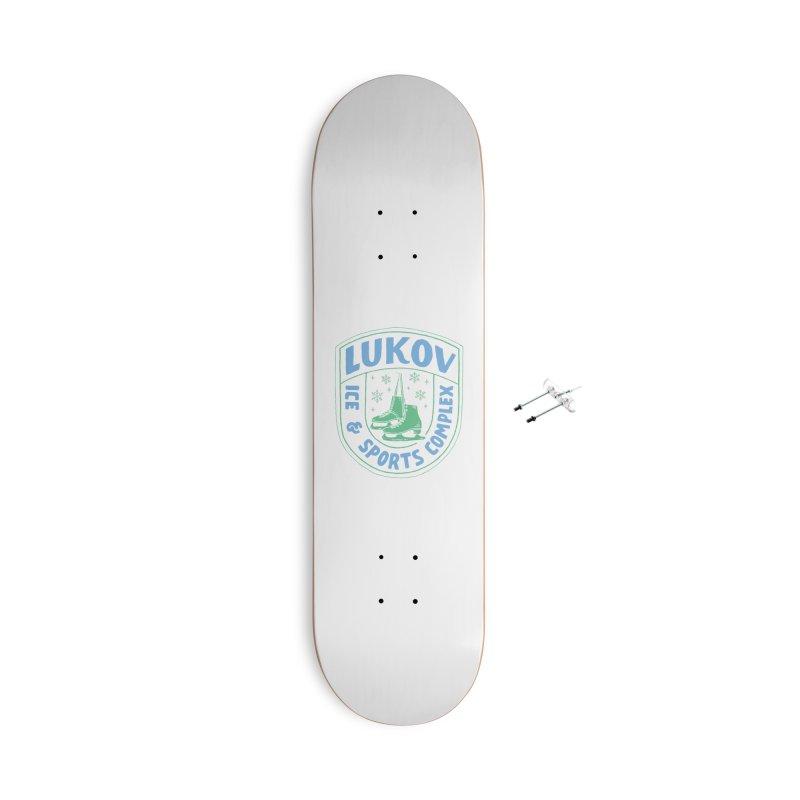 Lukov - Design 2 Accessories With Hanging Hardware Skateboard by M A R I A N A    Z A P A T A
