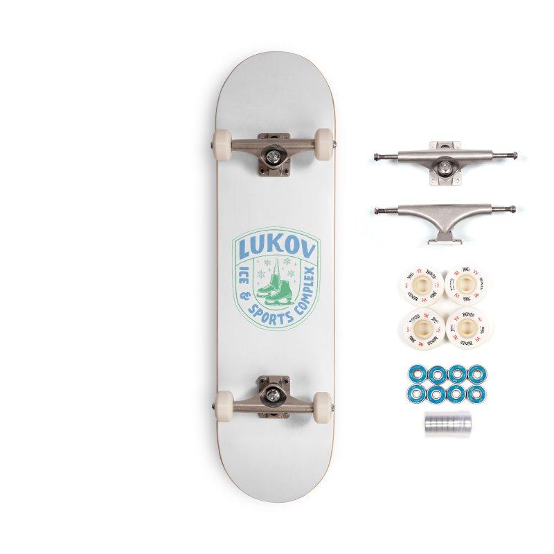 Lukov - Design 2 Accessories Complete - Premium Skateboard by M A R I A N A    Z A P A T A