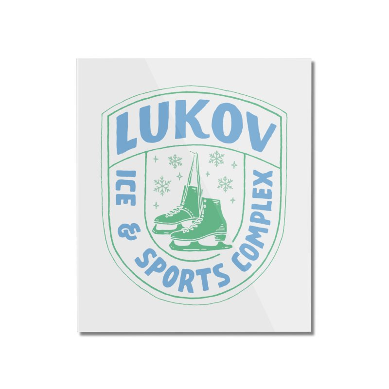 Lukov - Design 2 Home Mounted Acrylic Print by M A R I A N A    Z A P A T A