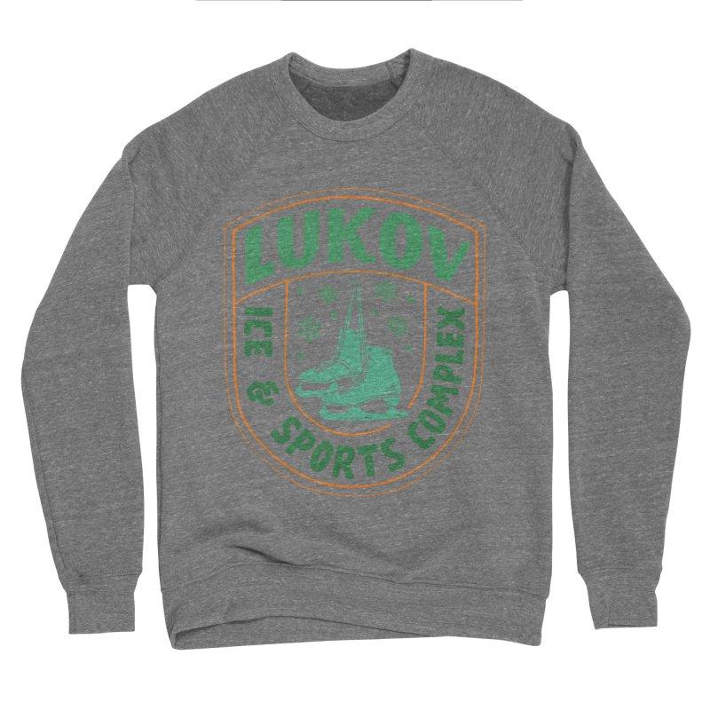 Lukov - Design 3 Men's Sponge Fleece Sweatshirt by M A R I A N A    Z A P A T A