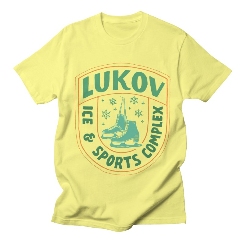 Lukov - Design 3 Men's T-Shirt by M A R I A N A    Z A P A T A
