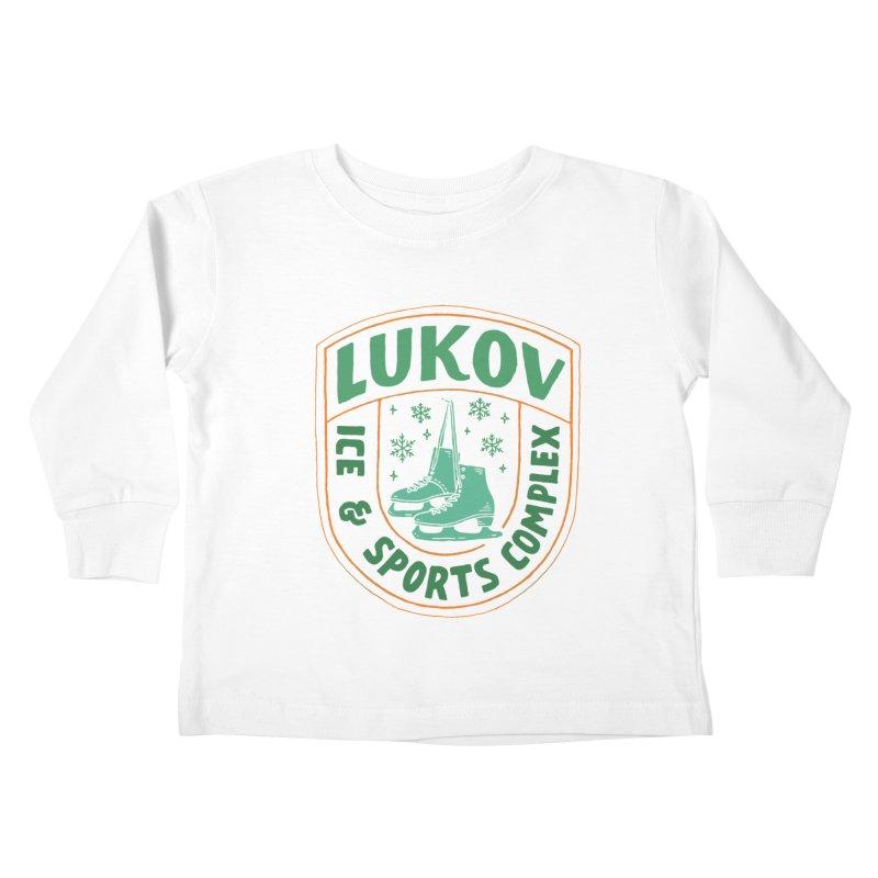 Lukov - Design 3 Kids Toddler Longsleeve T-Shirt by M A R I A N A    Z A P A T A