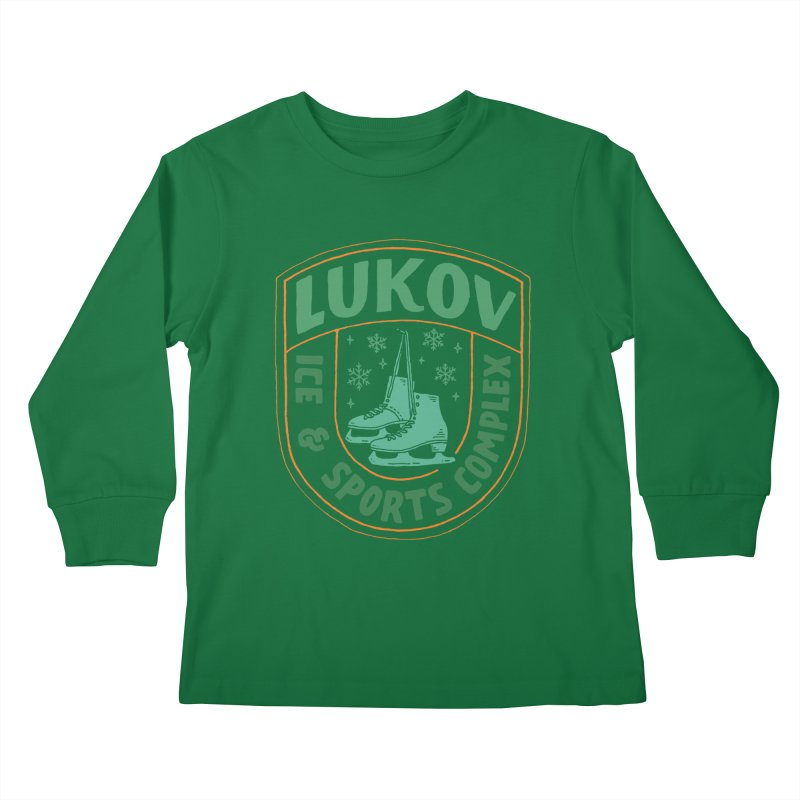 Lukov - Design 3 Kids Longsleeve T-Shirt by M A R I A N A    Z A P A T A