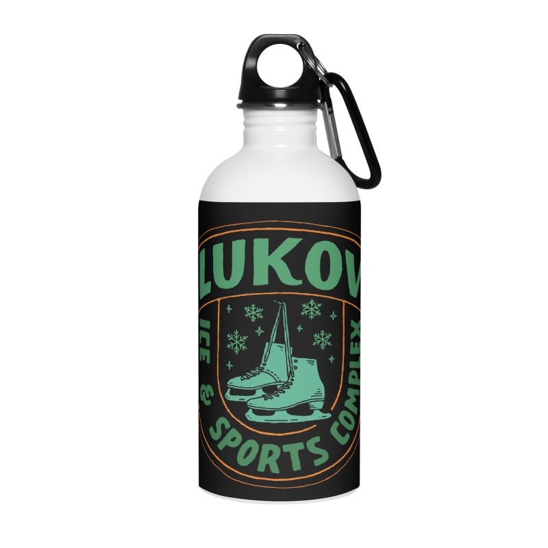 Lukov - Design 3 Accessories Water Bottle by M A R I A N A    Z A P A T A