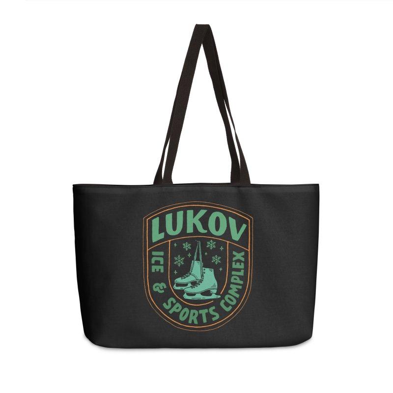 Lukov - Design 3 Accessories Weekender Bag Bag by M A R I A N A    Z A P A T A