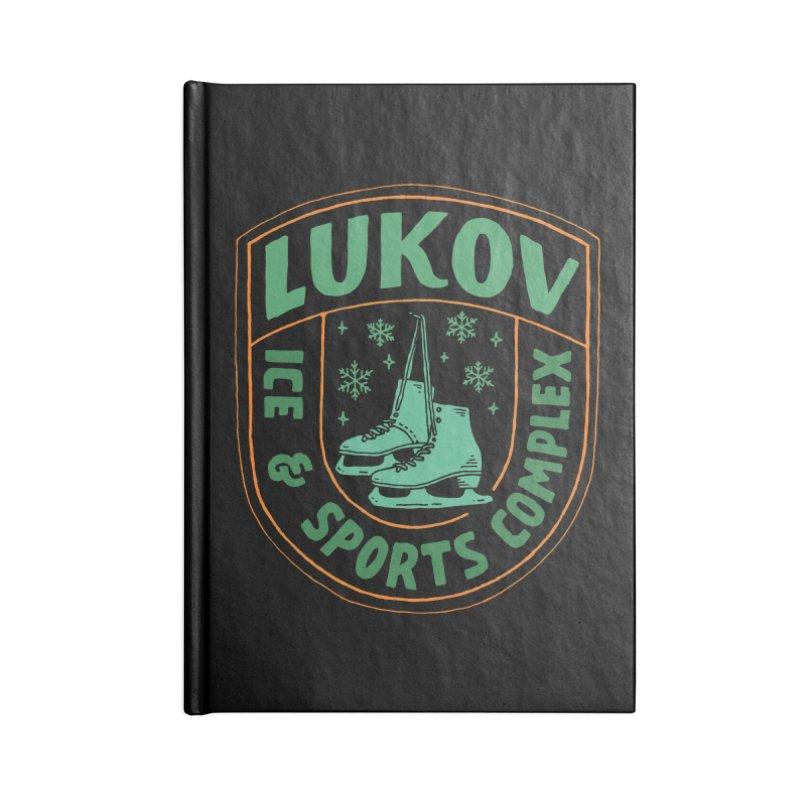Lukov - Design 3 Accessories Lined Journal Notebook by M A R I A N A    Z A P A T A
