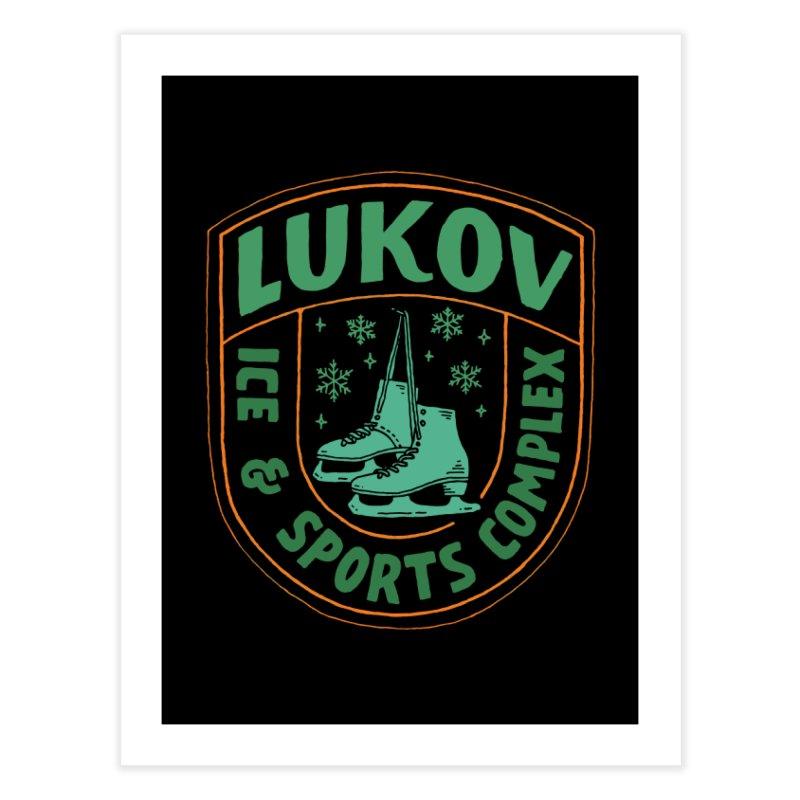 Lukov - Design 3 Home Fine Art Print by M A R I A N A    Z A P A T A