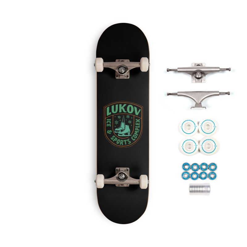 Lukov - Design 3 Accessories Complete - Basic Skateboard by M A R I A N A    Z A P A T A