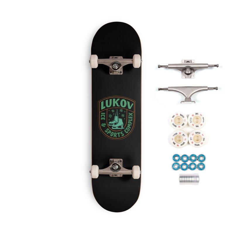 Lukov - Design 3 Accessories Complete - Premium Skateboard by M A R I A N A    Z A P A T A