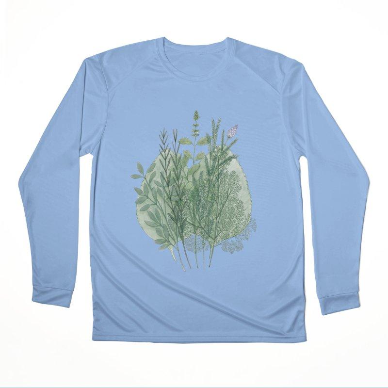 Herbs Men's Longsleeve T-Shirt by Maria Paula