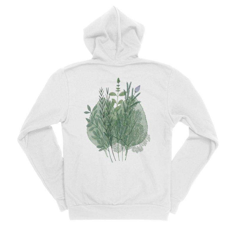Herbs Women's Zip-Up Hoody by Maria Paula