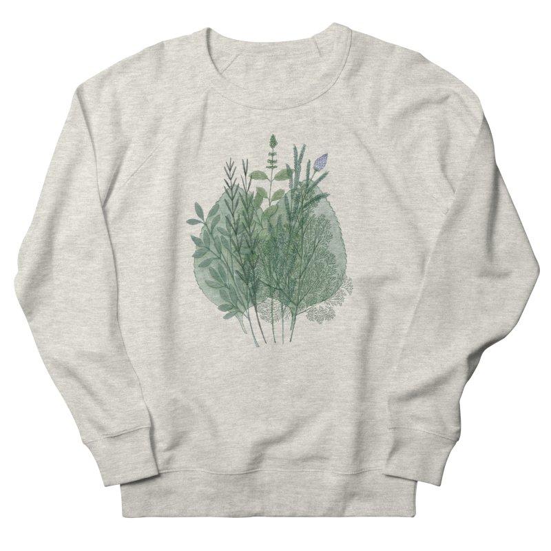 Herbs Men's Sweatshirt by Maria Paula
