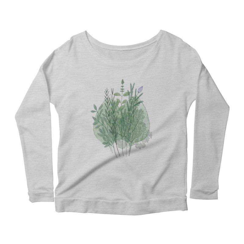 Herbs Women's Longsleeve T-Shirt by Maria Paula